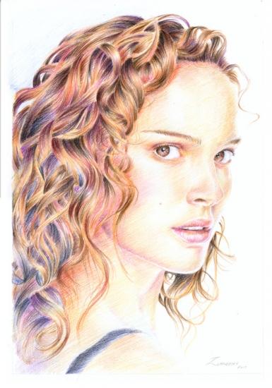 Natalie Portman by Olivier_Lerousseau